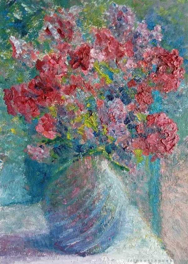 impressionism flowers