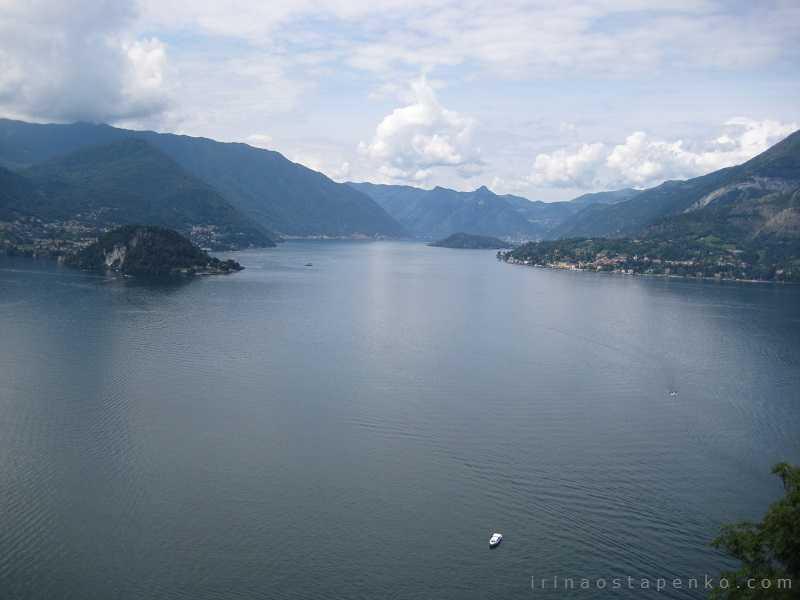 lake Como from castello di Vezio