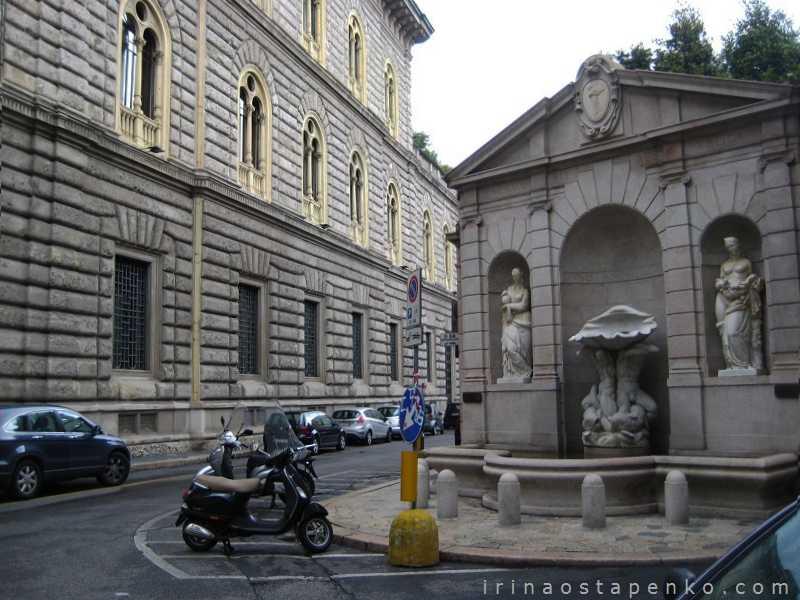 Triton fountain Milan
