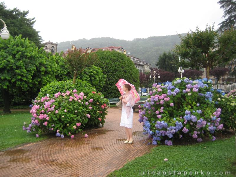 rain in Stresa