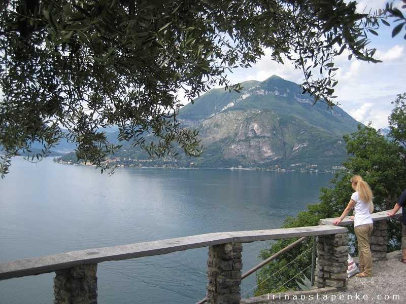 lake Como view from Vezio